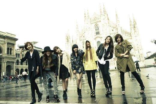 T-ara Reveals Pictures from European Photoshoot Trip