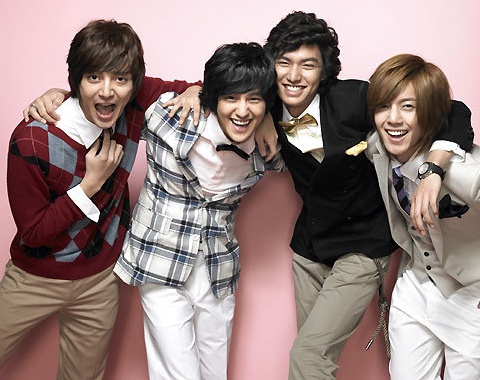 Which Male Idol Stars Would You Select as Members of F4?