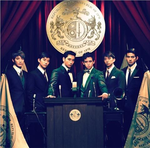 "2PM's Album ""Republic of 2PM"" Debuts at #2 on Oricon Chart"