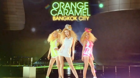 [MV] Orange Caramel – Bangkok City