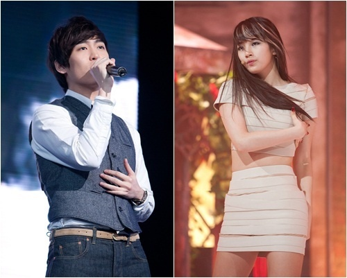 """John Park and miss A's Suzy Team Up for Mnet """"M! Countdown!"""""""