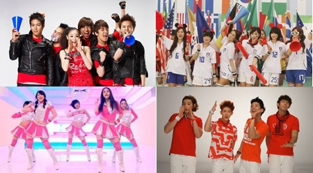 K-Pop Groups Sing For The World Cup