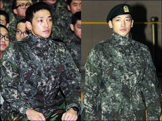 Rain's Latest Interview Reveals Current Military Life