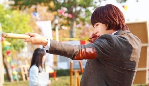 """Jang Geun Suk As William Tell on """"Love Rain"""""""