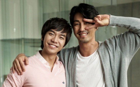 Dokko Jin Moves in on Lee Seung Gi's Refrigerator CF