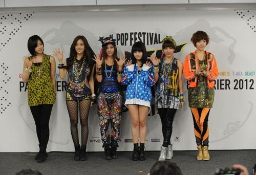 Weekly K-Pop Music Chart 2012 – February Week 2