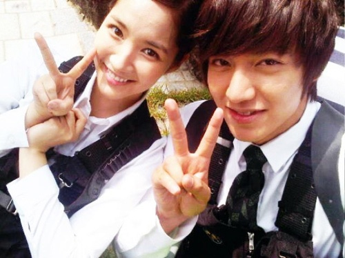 Park min young and lee min ho still dating