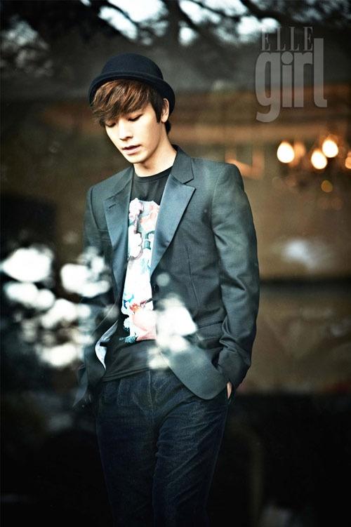 """Super Junior's Donghae for """"Elle Girl"""" Magazine"""