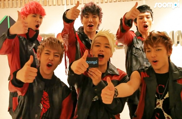 """[Exclusive] B.A.P Talks about """"Power,"""" Lupe Fiasco, Spray Cans, and the Bunny Secret!"""