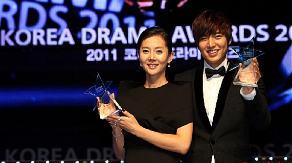 "Winners of the ""2011 Korea Drama Awards"""