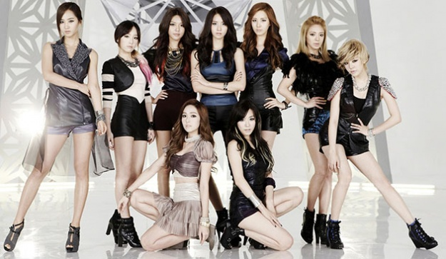 SNSD's Picture Graces the Background of the Yale University School of Art's Website