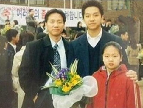 Lee Seung Gi's Family Photo Revealed