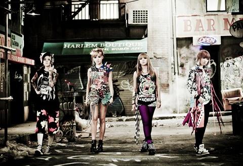 2NE1 Looks Fierce and Confident in Latest Adidas Spread