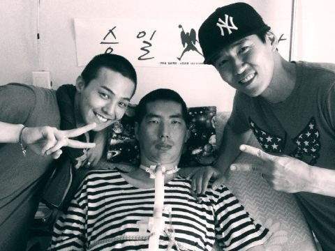 G-Dragon Visits Park Seung Il With Sean