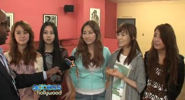 Wonder Girls Movie Screening, Interview on Access Hollywood