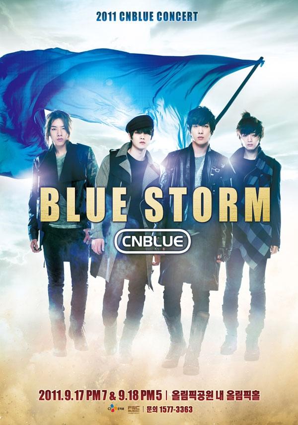 "CN Blue's ""BLUE STORM"" Hits Bangkok in November"