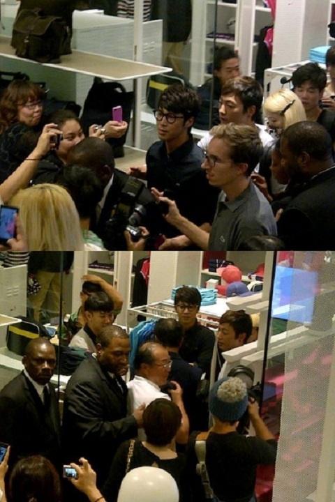 DBSK's Yunho Swarmed by Fans in New York