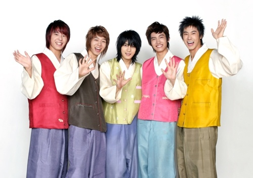 In Chuseok Outfits [TVXQ]