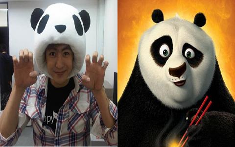 2PM's Nichkhun's Khunfu Panda vs. Kungfu Panda
