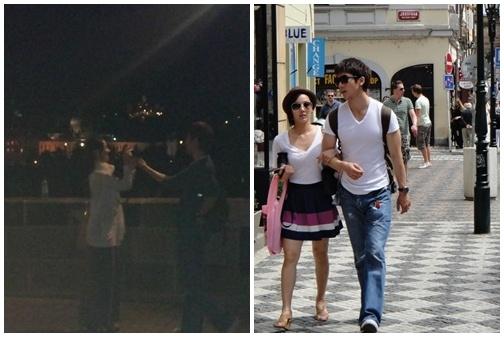 More Eugene & Ki Tae Young Honeymoon Photos Revealed