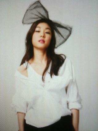 Kim Yuna for QUA S/S 2010