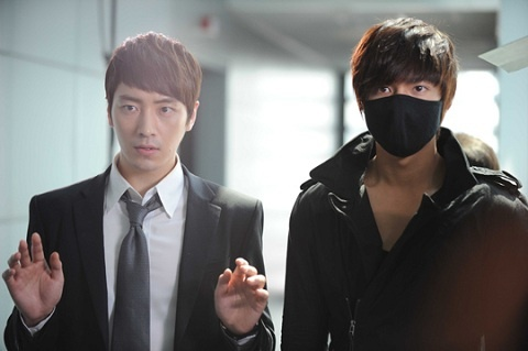 """City Hunter"" Teases with Lee Min Ho and Lee Joon Hyuk's…"