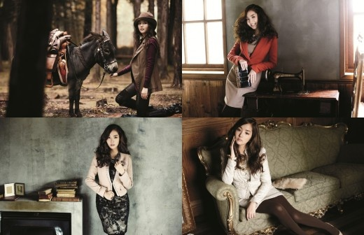Park Min Young Models for Compagna's Fall/Winter Collection
