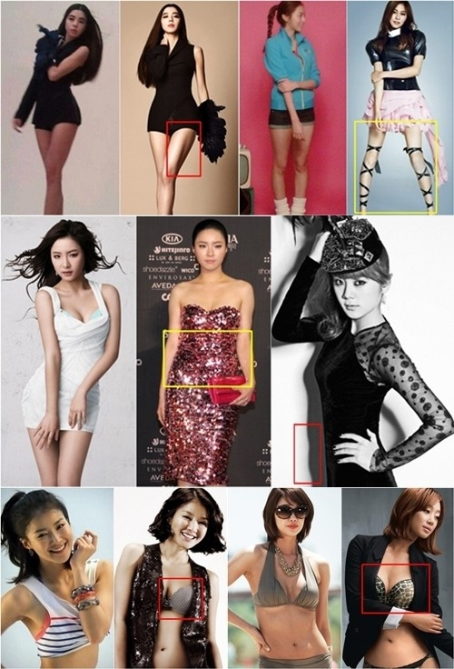 Female Stars' Real Secret to S-lines in Photoshoots