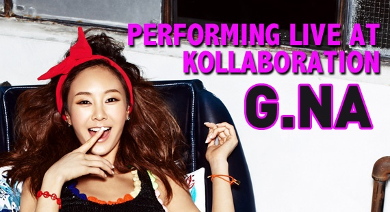 [Updated] G.NA to Perform at Kollaboration Los Angeles 2011