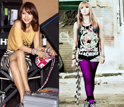 Old Photo of 2NE1's CL Looking Nervous and Shy with Lee Hyori