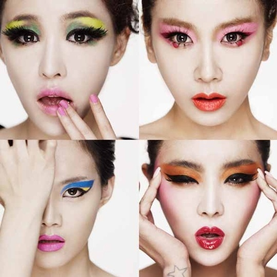 Brown Eyed Girls Fooling Around with Funny Pictures