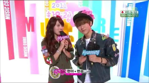 MBC Music Core 12.17.11