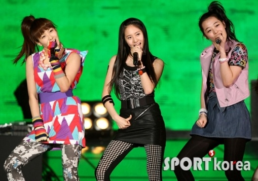 KFN TV National Armed Forces Show [f(x)]