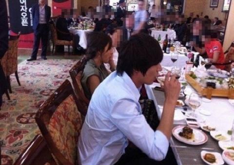 Lee Min Ho Clarifies About Awkward Photo with Hyori