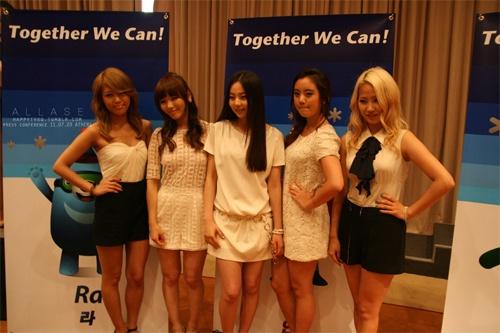 Wonder Girls Named Honorary Ambassador for Korean Food