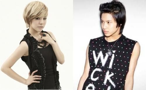 "SNSD's Sunny and SHINee's Taemin Begin Work for ""Kid Koala"""