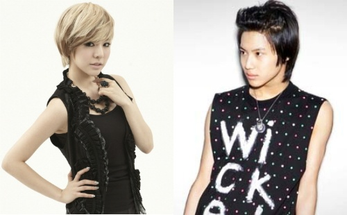 "SNSD's Sunny and SHINee's Taemin Begin Work for ""Kid Koala"""