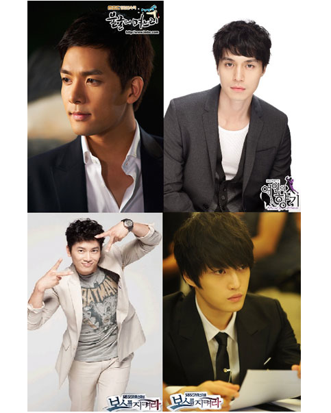 Jaejoong, Ji Sung, Lee Dong Wook, Park Yoon Jae – Fashion of the Young Company Director
