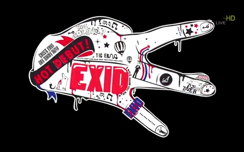 EXID Makes Their Debut Music Core Performance