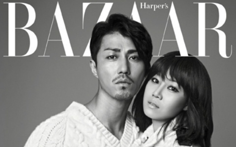 """""""Best Love"""" Couple Cha Seung Won and Gong Hyo Jin Reunite on a Magazine Cover"""