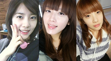 The Seven Beauties of Rainbow Show Off Their Bare Faces