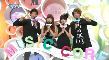 MBC Music Core 12.11.10