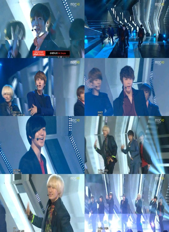 MBC Music Core 09.10.2011