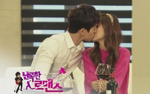 "SNSD Jessica Shares a Passionate Kiss with Lee Dong Wook for ""Wild Romance"""