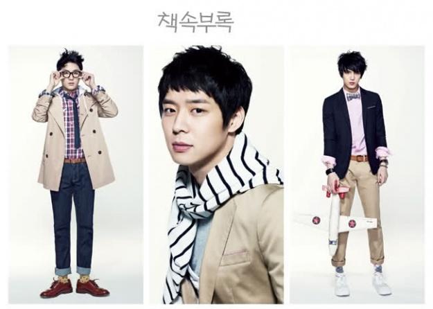 JYJ pose for NII Clothing Brand (Spring '11)