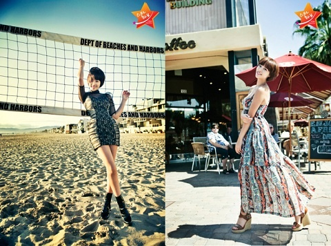 Hwang Jung Eum Shows Off Contrasting Charms in Star Photo Spread