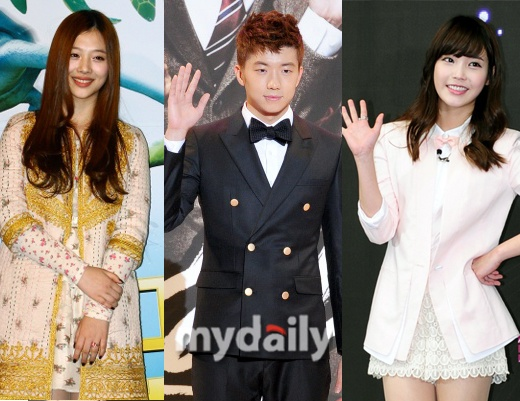 2PM's Wooyoung Reveals That He Prefers IU Over f(x)'s Sulli