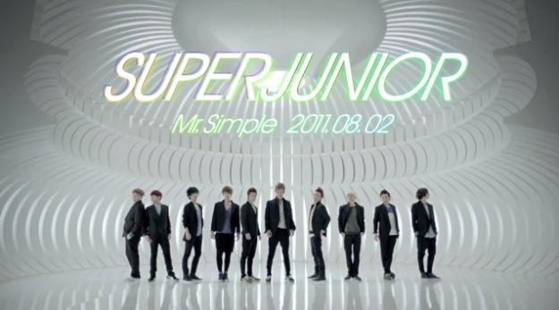 """Super Junior Releases Teaser for """"Mr. Simple"""""""