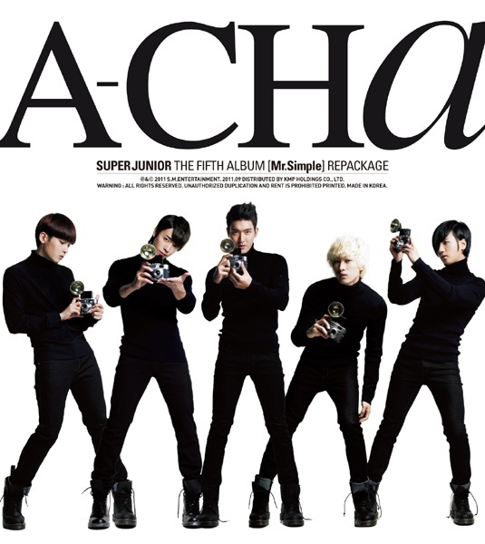 Super Junior Releases A-Cha Music Video!