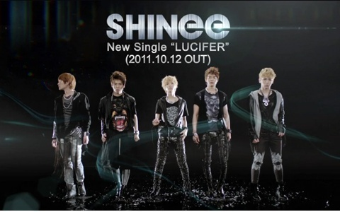 "SHINee Releases Teaser for ""Lucifer"" Japanese Ver."